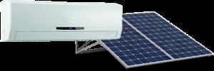système solaire solaris unité murale simple zone air tempo air conditionné climatisation et chauffage